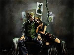 Dark Joker and Harley Quinn