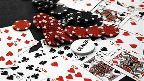 Cards Poker Poker Chips Casino Wallpaper