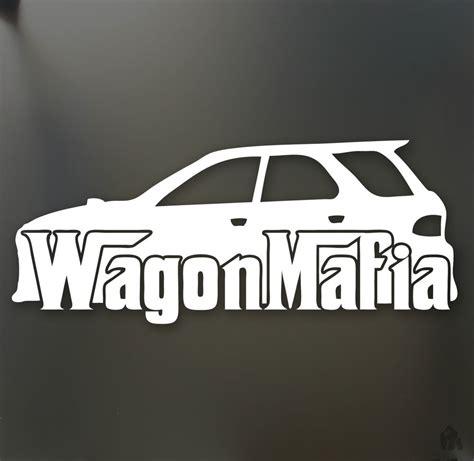 subaru wrx decals wagon mafia lowered sticker subaru wrx sti legacy low