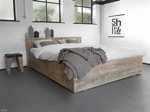Bett 1 X 2 M : bauholz bett jaron i einzel und doppelbetten aus bauholz ~ Bigdaddyawards.com Haus und Dekorationen
