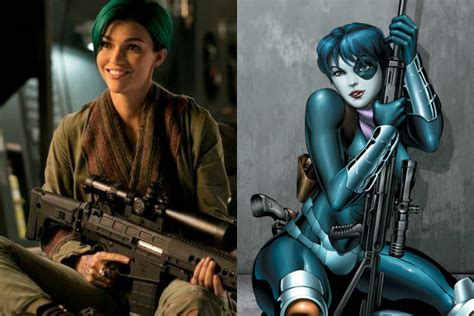 actress playing domino in deadpool 2 find out who s playing cable and domino in marvel s