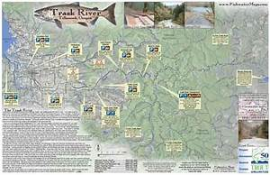 Trask River Map Tillamook Or Fishwatermaps Com