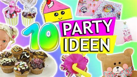 diy party ideen kindergeburtstag diys geschenkideen