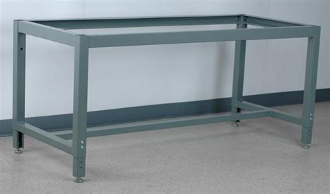 stackbin workbenches adjustable height box tube