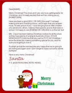 free printable santa letter downloads christmas letter With free christmas letters from santa claus