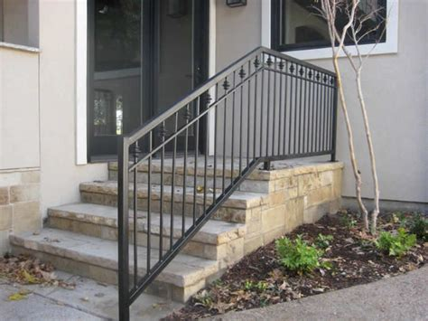 Stairs-iron-railings-for-exterior-outdoor-wrought-stair