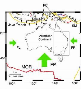 Map Showing The Study Area  Rectangle   Mid Ocean Ridge  Mor   Java