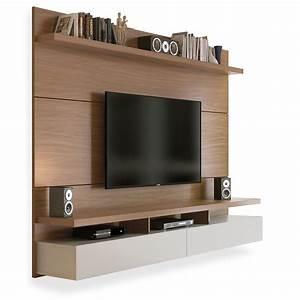 Boxspringbett 1 20 M : painel para tv at 60 polegadas natural com off white 2 20m ferraz toqueacampainha ~ Bigdaddyawards.com Haus und Dekorationen