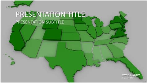 powerpoint map templates united states map powerpoint template 6323 free