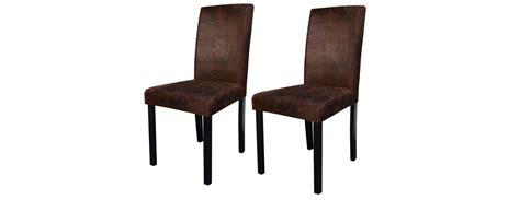 achat chaises chaise havane marron vieilli lot de 2 choisissez nos