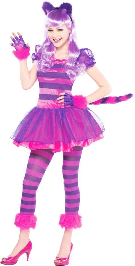 Cheshire Cat Costume  Girl's World Book Day Fancy Dress