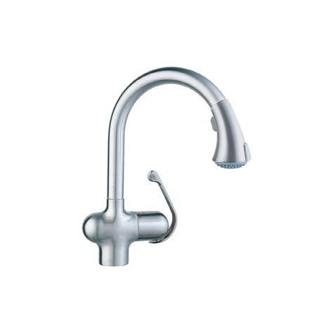 kitchen faucets shop grohe ladylux cafe stainless steel pull kitchen