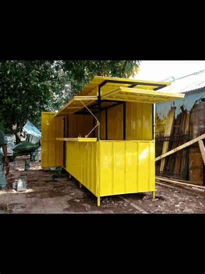 Gerobak Container Jualan Pembuatan Kukusan Depok Beji