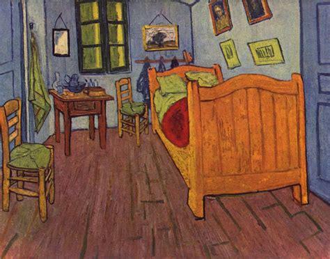 la camera da letto  van gogh ad arles  colori  sono