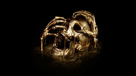 wallpaper skull horror black sails   creative