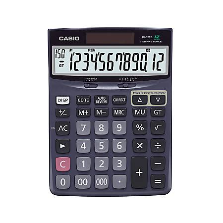 Casio Desk Calculator by Casio Check And Correct Desk Calculator 1 37 X 5 51 X 7 51