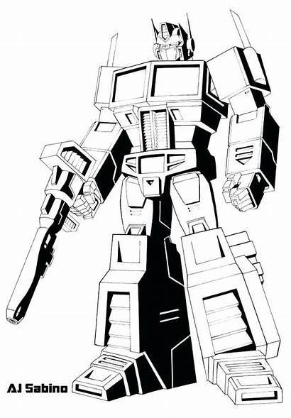 Coloring Megatron Pages Transformers Transformer Printable Getcolorings