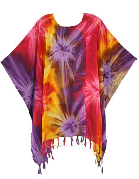 tie dye blouse womens boho hippie batik tie dye plus size tunic blouse