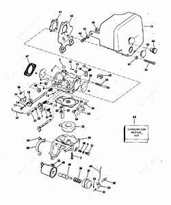 Evinrude 1978 25 - 25802c  Carburetor