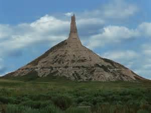 Chimney Nebraska Rock National Historic Site