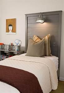 Photo Tete De Lit : 1001 mod les pour une t te de lit en palette de bois diy ~ Dallasstarsshop.com Idées de Décoration