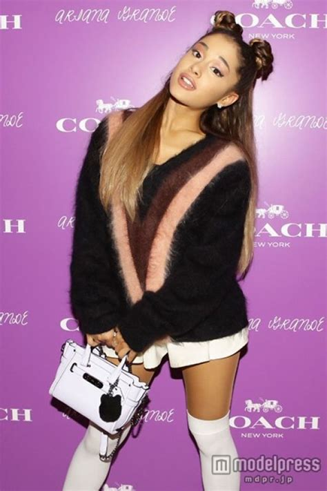 ariana grande private event  coach  japan august