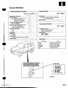 1998 Honda Crv Parts Diagram  U2022 Downloaddescargar Com