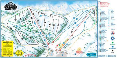 trail maps sasquatch mountain resort