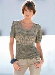 Pull Manche Courte Homme : modele tricot pull femme manches courtes ~ Dode.kayakingforconservation.com Idées de Décoration