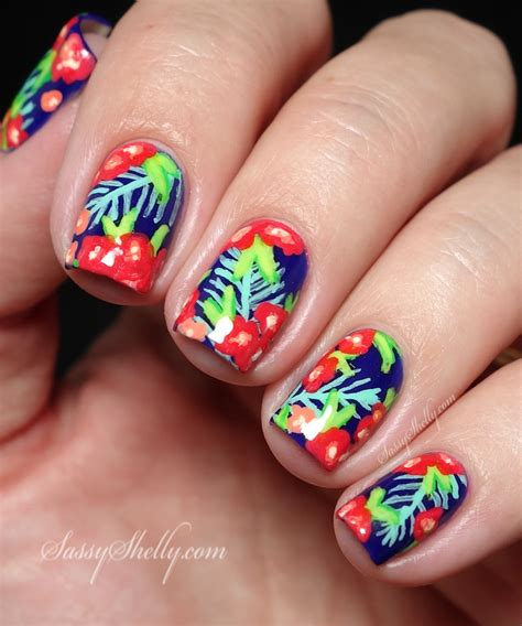 tropical nail designs digit al dozen does recreation wondrously tropical