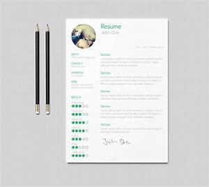 Free Visual Resume Templates 30 Free Beautiful Resume Templates To Download Hongkiat