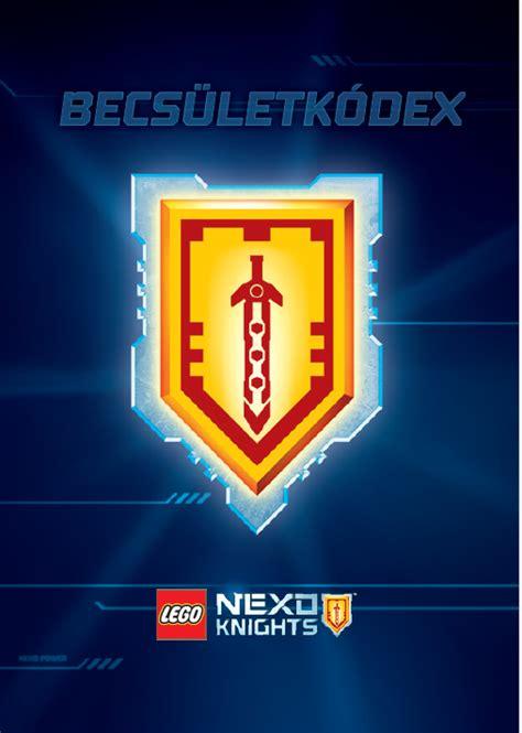 nexo knights becsueletkodex kockashop