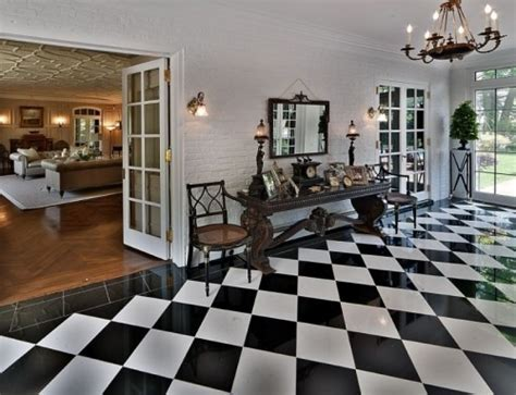 cool checkered flooring ideas shelterness