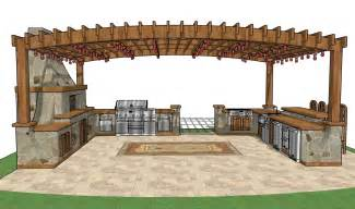 outdoor kitchen building plans free gazebo plans how to build a gazebo free pavilion plans