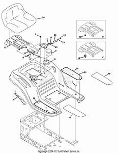 Mtd 13ao785t058  2012   M19546  2012  Parts Diagram For
