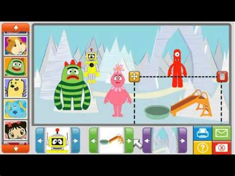 Something that you would really enjoy to have around in there is the true fact. Nick Jr Sticker Picture Fun Review Game Yo Gabba Gabba - YouTube