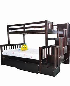 Lit Superposé Escalier : lit superpos 39 54 expresso avec escalier flamingo green ~ Premium-room.com Idées de Décoration