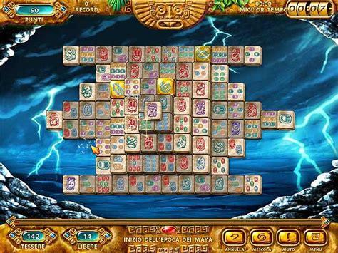 mahjongg ancient mayas gioco scaricare