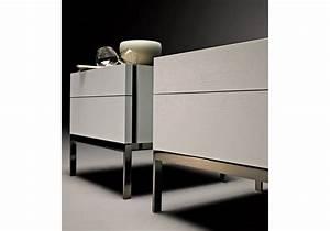 Table De Chevet Metal : 606 table de chevet base en m tal molteni c milia shop ~ Melissatoandfro.com Idées de Décoration