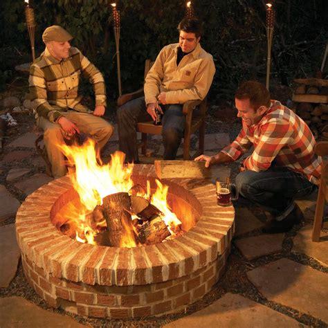 build  diy fire pit  family handyman