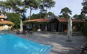 cap ferret jolie villa bois avec piscine proche des plages With location villa cap ferret avec piscine 0 cap ferret grande villa avec piscine barnes bassin d