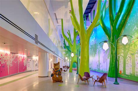 nationwide childrens hospital interiors  behance