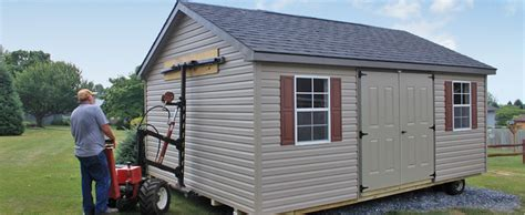 mule shed mover for amish sheds lancaster york harrisburg pa maryland
