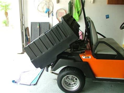 golf cart dump bed espotted