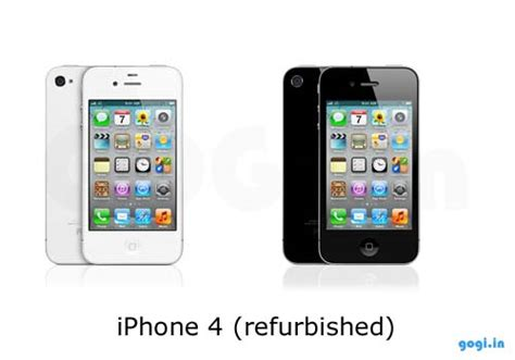 sell iphone 4 apple to sell 16 gb iphone 4 refurbished for rs 22 500