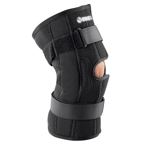 Breg Economy Hinged Soft Knee Brace for Wrestling ACL MCL ...