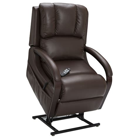 Seatcraft Sherwood Brown Lift Recliner  Power Recline