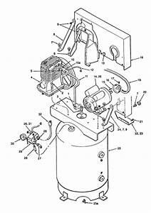 Sanborn Parts 500b44v  500b60v  500bl60v  500be60v  500blf44v  500bp60v Air Comp