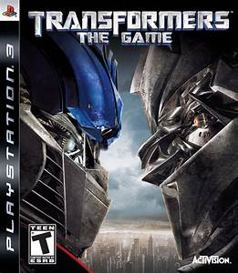 Transformers The Game Playstation 3 Game