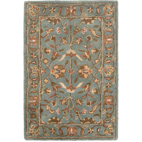 4 Area Rugs by Safavieh Heritage Blue 2 Ft 3 In X 4 Ft Area Rug Hg969a